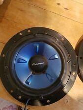 Pioneer TS-H1703 Car Door Speaker 2 Way 17cm 180w including  VW T5 adaptor plate