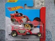 Voitures de courses miniatures rouge Hot Wheels 1:64