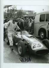 Phil Hill (1927-2008) Ferrari 246 BRDC Trophy Silverstone 1960 Signed Photograph