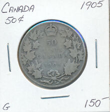 CANADA 50 CENTS 1905 - G
