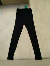 LADIES BLACK H&M MAMA MATERNITY LEGGINGS SIZE M Brand New with Tag