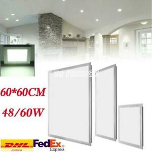 48/60W LED Recessed Ceiling Panel Light Down Light Slim Lamp Square 60*60cm