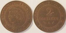 2 Centimes Cérès 1892 A, SUP !!