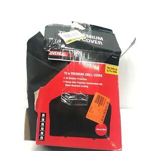 Universal by Nexgrill 70 in. Premium Grill Cover 1001 0534 519 Black Damaged Box