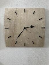 Orologio da parete in pietra naturale fatto a mano