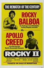 """ROCKY II (2) Movie Poster [Licensed-NEW-USA] 27x40"""" Theater Size (Stallone)"""