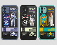 Nasa Logo Astronaut Rocket Hard Phone Cover Case For iPhone 11 Pro Max XS SE 2nd