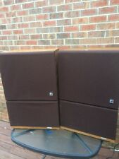 ELECTRO-VOICE INTERFACE C SERIES II SPEAKERS WALNUT CABINETS