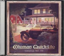 Coleman Quick-Lite Catalog No 36. on CD-1918-19 era.