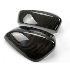 Carbon Fiber Car Rearview Mirror Cover Fit For MAZDA 3 Axela 2014-2016
