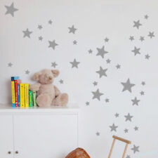 Multi-sized Star Wall Stickers Baby Room Decals Art Bedroom Vinyl Home Decor