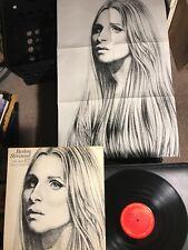 Barbra Streisand Live Concert At The Forum W/poster Columbia Album Vinyl Record