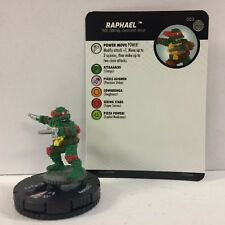 #003 Raphael Nm W/ Card Tmnt Unplugged - Turtles Heroclix