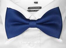 Neuf haute qualité Homme Jeune Nœud Bow en bleu foncé Marine -100% Handmade -S1