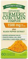 Nature's Truth Turmeric Curcumin Advanced Complex 1500 mg Capsules 60 ea