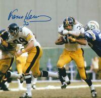Franco Harris Autographed Signed 8x10 Photo Steelers HOF REPRINT
