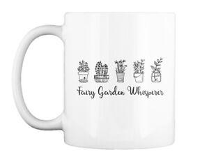 Garden- Fairy Garden Whisperer-new Gift Coffee Mug