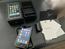 Apple iPhone 3G - 8GB - Black A1241 (GSM) Matching Numbers Box Mint Condition