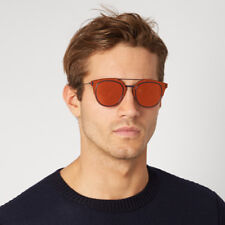 Dior Homme Composit 1.0 Mirrored Sunglasses in Orange
