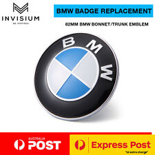 New BMW Bonnet Hood Trunk Replacement Badge for BMW 82mm E36 E46 E90 E92 E65 F30