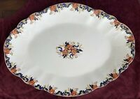 "Antique 1890s Lg 19"" Serving Platter by John Maddock & Sons ""Majestic"" ~ ENGLAND"