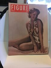 Vintage Adult Pin Up Magazine FIGURE No.16 File For Artists Early 1960's