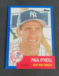 2016 Topps Archivi Blu #49 Paul o' Neill Sn 052/199