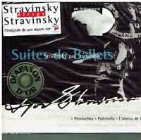 Stravinsky dirige Stravinsky Suite de ballets - Pétrouchka Pulcinella L'oiseau