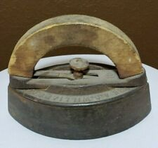 Vintage Antique A.C.Williams Sad Iron Clothes Ironing Tool Cast Iron Door-stop