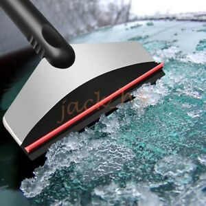 Stainless Steel Rubber Car Ice Snow Cleaner Patented Scraper Tools Accessories