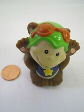 Fisher Price Little People CIRCUS CARNIVAL PERFORMING MONKEY Rare! Zoo Animal