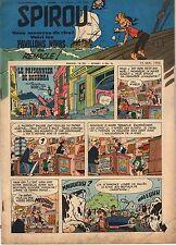 """BANDE DESSINEE """" SPIROU """" N°  1048  DE  MAI   1958"""
