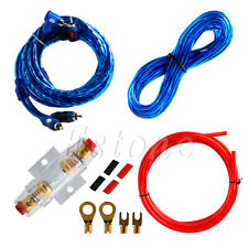 8GA FUSE Car Audio Subwoofer Sub Amplifier AMP Wiring Kit Power Cable
