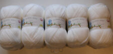 Job Lot James C Brett Baby Supersoft DK Yarn, 500g - White BB4 *FREE POSTAGE*