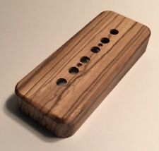 Guilford Zebrawood P-90 Pickup Cover - Fits Seymour Duncan And PRS - USA