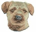 """3"""" Border Terrier Breed Embroidery Patch Applique"""