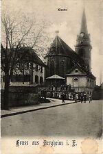 CPA   Kirche - Gruss aus Bergheim i. E.   (451754)