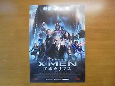 X-Men: Apocalypse MOVIE FLYER Mini Poster Chirashi ver.2 Japanese 28-5-1