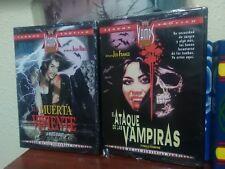 EL ATAQUE DE LAS VAMPIRAS - LA MUERTA VIVIENTE - DVD VIDEO - NUEVAS - TERROR