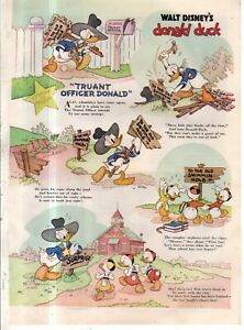 1941 Disney - Truant Officer Donald Duck from Good Housekeeping