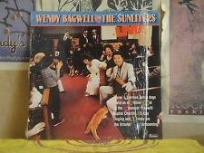 WENDY BAGWELL AND THE SUNLITERS, LIVE - LP CAS-9903