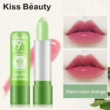 Lip Balm 99% Aloe Vera Natural Moisture Gloss Lipstick Temperature Color Change