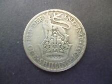 1931 Pièce de Monnaie Shilling George 5TH en Bon Distribué État ,50 % Argent