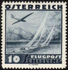 Austria Scott #C46 VF Unused 1935 10 Schilling Seaplane and Yachts