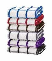 Pack Of 3 6 9 12 15 Tea Towels Cotton Large 40 x 70cm Kitchen Dish Cloths Drying