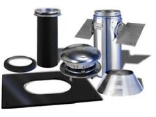 """Selkirk 6"""" Pipe, 6T-PCK, Pitched Wood Stove Ceiling Support Install Kit"""
