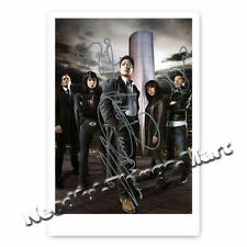 Torchwood con John Barrowman-Autografo foto carta 10x15cm (m1)