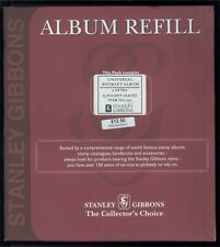 Stanley Gibbons Universal Booklet Album 15 Pocket Leaves Album Refill #R3571