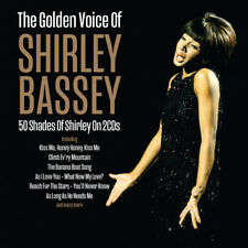 Shirley Bassey - The Golden Voice Of Shirley Bassey 2CD NEW/SEALED