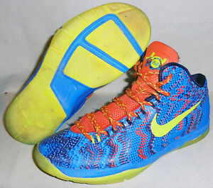 -NIKE- KD V/5 Christmas Kevin Durant Basketball Sneakers - Size 5.5 - 555641-403